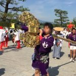 嵯峨祭り 剣鉾