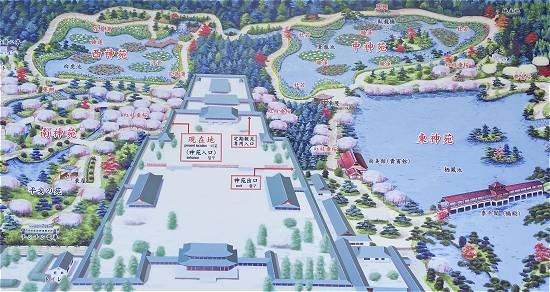 平安神宮地図