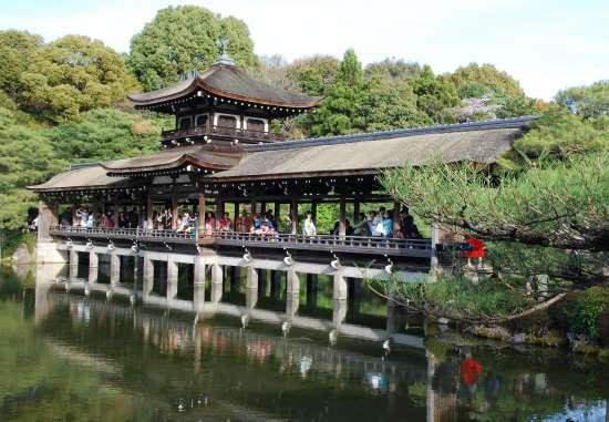 平安神宮 橋殿