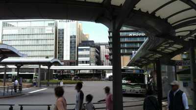 京都駅バス停