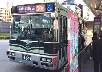 京都駅 京都市バス