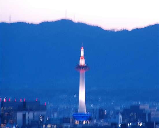 京都タワーライトアップ