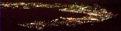 比叡山山頂展望台 夜景