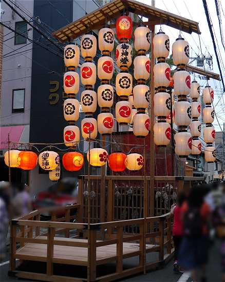 油天神山 宵山 祇園祭