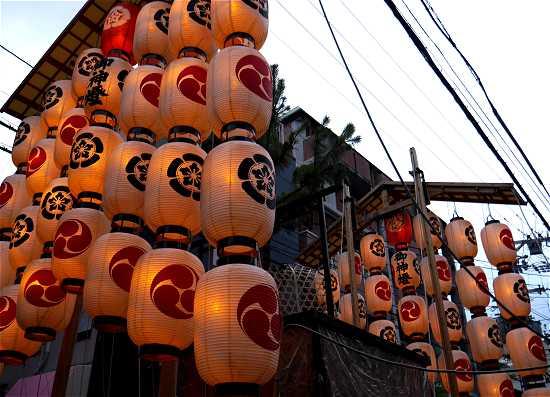 祇園祭 宵山 油天神山