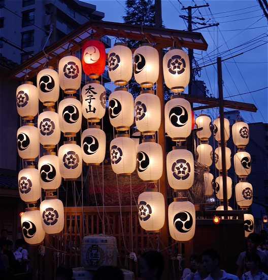 祇園祭 太子山 宵山