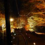 叡山電車もみじのトンネル