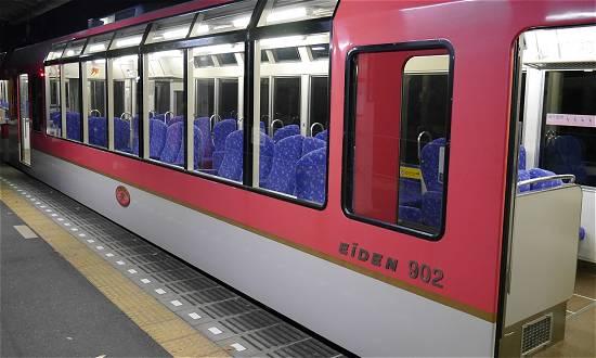展望列車きらら 叡山電車