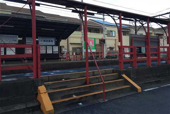 嵐電 車折神社駅