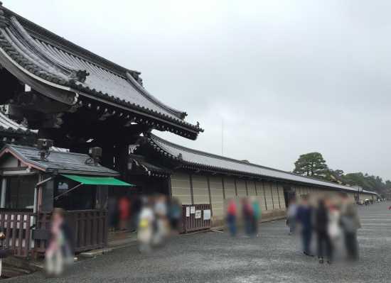 京都御所 一般公開入口